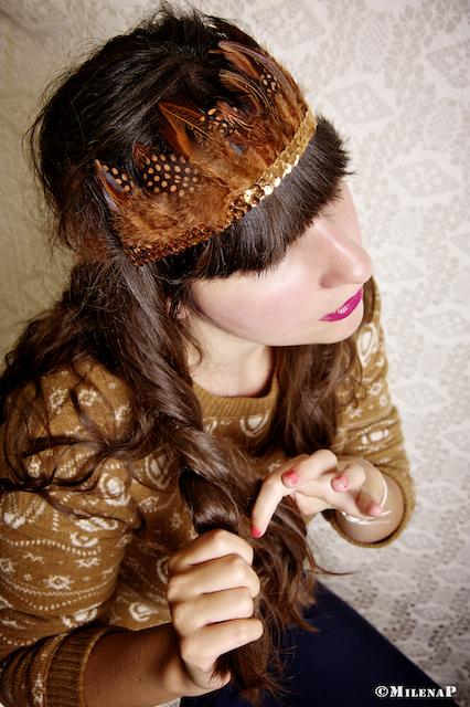 Seasons in Wonderland, headbands, mode