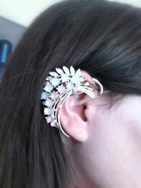 Boucles d'oreilles chez claire's
